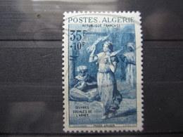 VEND BEAU TIMBRE D ' ALGERIE N° 348 , X !!! - Algeria (1924-1962)