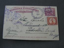 Guatemala Card To Germany 1926 - Guatemala