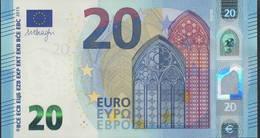 "EURO 20  ITALIA SD S016  ""32""  DRAGHI  UNC - EURO"