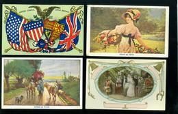 Beau Lot De 60 Cartes Postales De Fantaisie   Mooi Lot 60 Postkaarten Van Fantasie -  60 Scans - Postkaarten