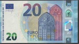 """EURO 20  ITALIA SA S016  """"32""""  DRAGHI  UNC - EURO"""