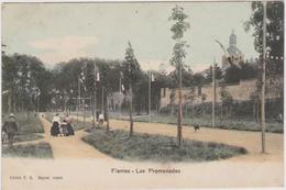 CARTE POSTALE   FISMES 51  Les Promenades - Fismes
