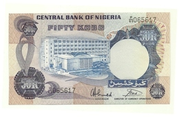 Nigeria - 50 Kobo 1973, - Nigeria