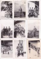 LOT 14 PHOTOS / MILITAIRES / JUIN 1940 / 73 SAINT JULEN DE MAURIENNE - Guerra, Militari