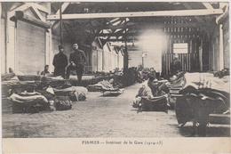 CARTE POSTALE   FISMES 51  Intérieur De La Gare (1914-15) - Fismes