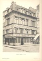 LISIEUX - Lot De 2 Photos De Vieilles Maisons Normandes - Architecture, Maison (b233) - Architecture
