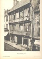 BAYEUX - Lot De 3 Photos De Vieilles Maisons Normandes - Architecture, Maison (b233) - Architecture