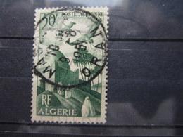 """VEND BEAU TIMBRE DE POSTE AERIENNE D ' ALGERIE N° 9 , CACHET """" ORAN - MASCARA """" !!! - Algérie (1924-1962)"""