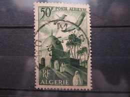 "VEND BEAU TIMBRE DE POSTE AERIENNE D ' ALGERIE N° 9 , CACHET "" ORAN - MARNIA "" !!! (a) - Algérie (1924-1962)"