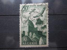"VEND BEAU TIMBRE DE POSTE AERIENNE D ' ALGERIE N° 9 , CACHET "" ORAN - MARNIA "" !!! (b) - Algérie (1924-1962)"