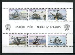 TAAF 2013  N° F654 **  Neuf MNH Transports Hélicoptères Polaires Alouette Ecureuil Bateaux Boats Transports - Unused Stamps