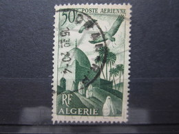 """VEND BEAU TIMBRE DE POSTE AERIENNE D ' ALGERIE N° 9 , CACHET """" ORAN R.P. """" !!! (b) - Algérie (1924-1962)"""