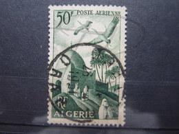 """VEND BEAU TIMBRE DE POSTE AERIENNE D ' ALGERIE N° 9 , CACHET """" ORAN R.P. """" !!! (a) - Algérie (1924-1962)"""