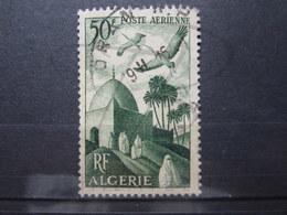 """VEND BEAU TIMBRE DE POSTE AERIENNE D ' ALGERIE N° 9 , CACHET """" ORAN R.P. """" !!! (c) - Algérie (1924-1962)"""