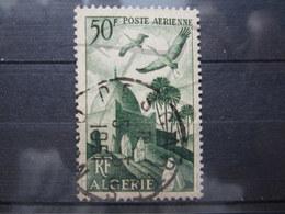 """VEND BEAU TIMBRE DE POSTE AERIENNE D ' ALGERIE N° 9 , CACHET """" DESCARTES - ORAN """" !!! - Algérie (1924-1962)"""