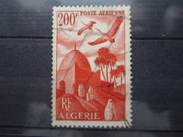VEND BEAU TIMBRE DE POSTE AERIENNE D ' ALGERIE N° 11 !!! - Algérie (1924-1962)