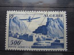 VEND BEAU TIMBRE DE POSTE AERIENNE D ' ALGERIE N° 12 , X !!! - Algérie (1924-1962)