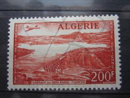 VEND BEAU TIMBRE DE POSTE AERIENNE D ' ALGERIE N° 14 , X !!! - Algérie (1924-1962)