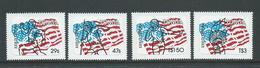 Tonga 1984 Olympic Games Los Angeles Self Adhesive Set Of 4 MNH - Tonga (1970-...)