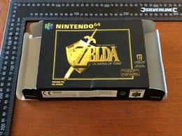 Jeux Nintendo 64 Zelda Ocarina Of Time  (boite Vide) - Nintendo 64