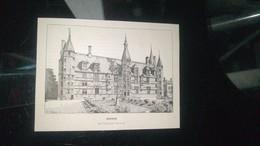 Affiche (gravure) - NEVERS Palais Ducal - Affiches
