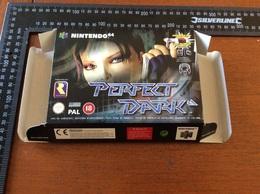 Jeux Nintendo 64 Perfect Dark   (boite Vide) - Nintendo 64