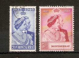 MONTSERRAT 1948 SILVER WEDDING SET FINE USED Cat £16+ - Montserrat