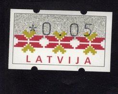 613447192 AUTOMAATZEGELS SET MICHEL 1. 1994 - Lettonie