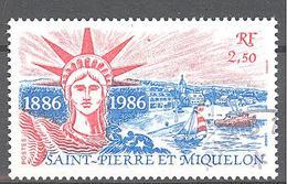 Saint Pierre Et Miquelon: Yvert N° 471°; Statue De La Liberté - St.Pierre & Miquelon
