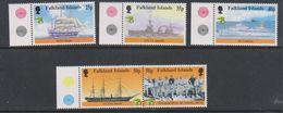 British Antarctic Territory (BAT) 1999 Australia / Maritime History 5v (+margin) ** Mnh (39918) - Ongebruikt