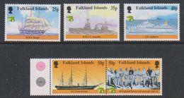 British Antarctic Territory (BAT) 1999 Australia / Maritime History 5v ** Mnh (39918C) - Ongebruikt