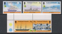 British Antarctic Territory (BAT) 1999 Australia / Maritime History 5v ** Mnh (39918D) - Ongebruikt