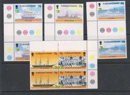 British Antarctic Territory (BAT) 1999 Australia / Maritime History 5v (pair) ** Mnh (39918E) - Ongebruikt
