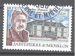 Saint Pierre Et Miquelon: Yvert N° 476°; Medecine - St.Pierre & Miquelon