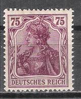 """Reich Variété Du N° 126 Neuf ** Michel 148 Ll Signalé """"ll"""" Au Dos - Allemagne"""