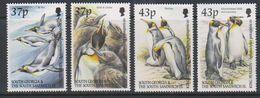 South Georgia 2000 King Penguins 4v  ** Mnh (39819) - Zuid-Georgia