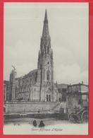 CPA-12- SAINT-AFFRIQUE - L'Eglise - Animation_2 SCANS - Saint Affrique
