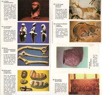 8 Images Documentées Sur Le Theme De L' Art Prehistorique(107809) - Sammelkarten, Lernkarten