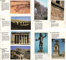 8 Images Documentées Sur Le Theme Des Monuments Antiques Romains (107810) - Sammelkarten, Lernkarten