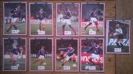 Lot De 11 Cartes Postales  FOOTBALL équipe De France 98 Champions Du Monde Candia - Calcio