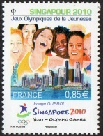 France N° 4491 ** SINGAPOUR 2010 - Jeux Olympiques De La Jeunesse - France