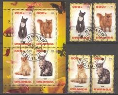 G235 Used CTO 4+S/S Fauna Pet Cat Burmese 2013 - Stamps