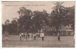 Guinée - CONAKRY - La Place Du Port - Guinée Française