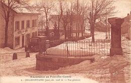Bellefontaine René 4 Hôtel Du Jura Canton Morez - Francia