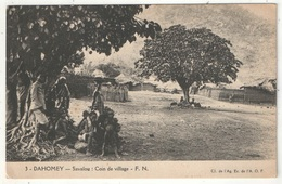 Dahomey - SAVALOU - Coin De Village - FN 3 - Dahomey