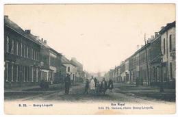 Bourg-Léopold - Rue Royale 1907  (Geanimeerd) - Leopoldsburg