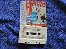 LES CHATS SAUVAGES VOIR DESCRIPTIF ET PHOTO... REGARDEZ LES AUTRES (PLUSIEURS) - Cassettes Audio