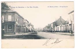 Camp De Beverloo - La Rue Royale 1906  (Geanimeerd) - Leopoldsburg