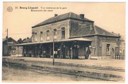 Bourg-Léopold - Vue Intérieure De La Gare  (Geanimeerd) - Leopoldsburg