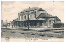 Bourg-Léopold - Station 1914  (Geanimeerd) - Leopoldsburg